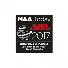 M&A Today - Law Firm of the Year - Czech Rep