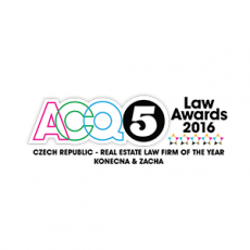 ACQ5 - R.E. Law Firm of the Year - Czech Rep.