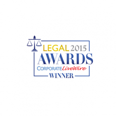 Legal Awards Winner