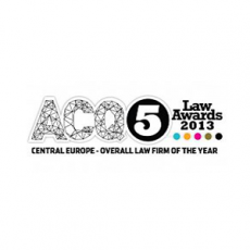 ACQ5 - Central Europe - Owerall Law Firm of the Year