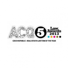 ACQ5 - Czech Rep - R.E. Law Firm of the Year