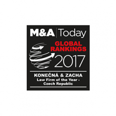 M&A Today - Law Firm of the Year - Czech Rep.