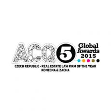 ACQ5 - Czech Rep. - R.E. Law Firm of the Year