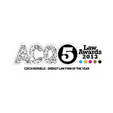 ACQ5 - Czech Rep - Energy Law Firm ot the Year